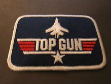 TOP GUN BADGE EMBRODIERY TOM CRUISE MCGILLIS KILMER NAVAL FLYING MIGs NAVY FLYER