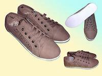Moderne Damenschuhe Sneaker Schuhe Freizeitschuhe Turnschuhe Gr. 37 & 38 Braun