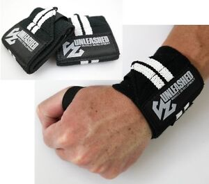 UNLEASHED-WRIST-WRAPS-POWERLIFTING-BODYBUILDING-GYM-SUPPORT-STRAPS