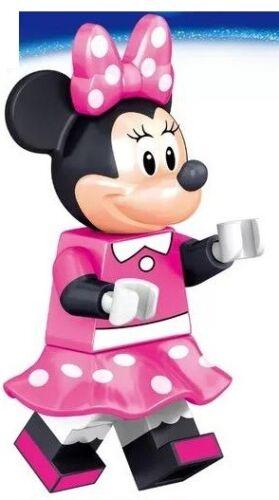 Mickey Mouse Mini Figure NEW UK Seller Fits Major Brand Blocks Bricks Minnie Kit