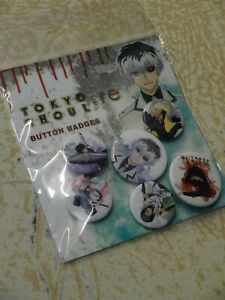 Tokyo-Ghoul-RE-Badge-Pack-6-designs-Officially-Licensed-Product-by-GB-Eye