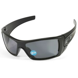Image is loading Oakley-Batwolf-OO9101-04-Matte-Black-Grey-Polarised- 3677098c08