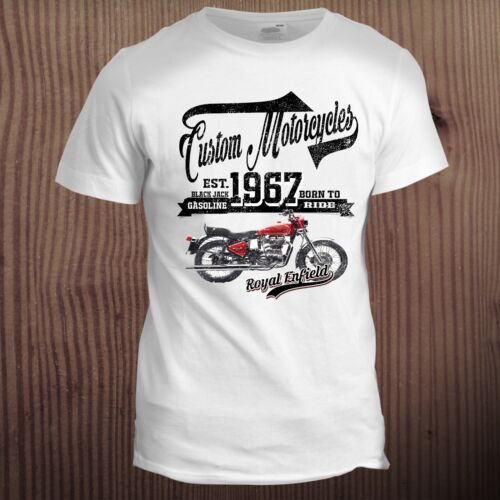 Indian Father Dad Biker Motorcycle Hot Rod Motorbike Cafe Racer T Shirt