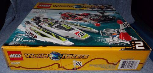 LEGO 2010 WORLD RACERS JAGGED JAWS REEF SET #8897