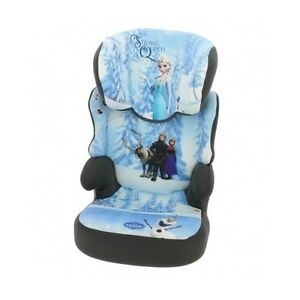 Frozen-Car-Seat-Elsa-Child-High-Back-Kids-Booster-Girl-Travel-Cushion-Padded-NEW