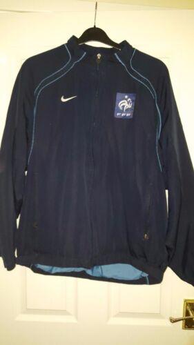 Jacket France L Fff Dark Mens Nike Long Blue Football Size Sleeve nZItqwPxS6