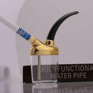 Mini Shisha Pipes Narghilè Acqua Tabacco Pipa Filtro Sigarette Porta