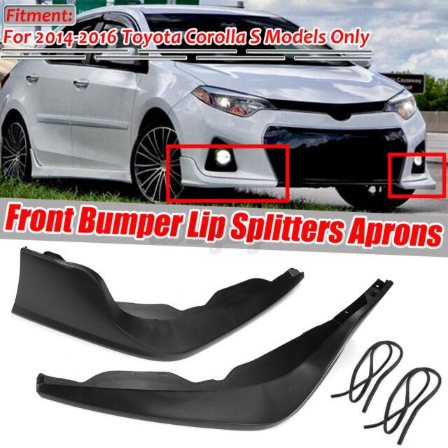 Fits 11-14 Acura TSX Front Bumper Lip Splitter Protector