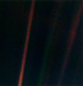 Nasa Voyager 1 Earth Pale Blue Dot Print Poster Ebay