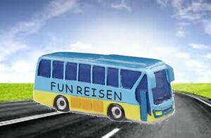 Details Zu Mini Reisebus Miniatur Busreise Gutschein Basteln Geldgeschenk Bus Reisen Deko