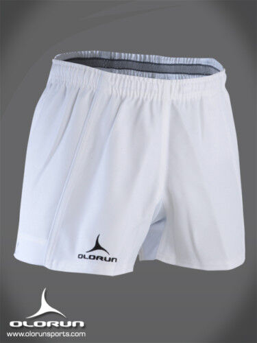 Olorun Kinetic White Rugby Shorts 30 - 42