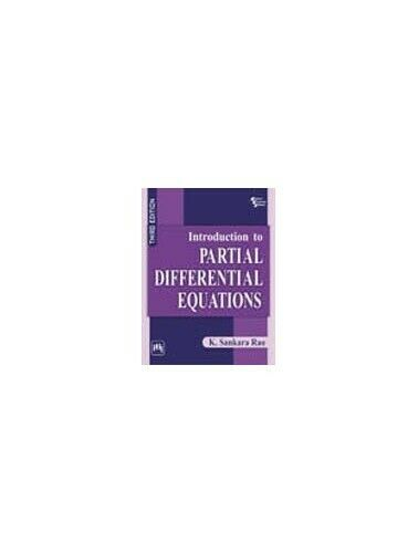 Introduction To Partial Differential Equations By Sankara