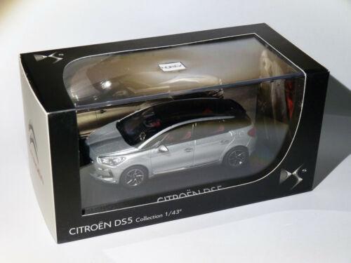 Citroën DS5 de 2011 Gris Alu au 1//43 de NOREV AMC019062