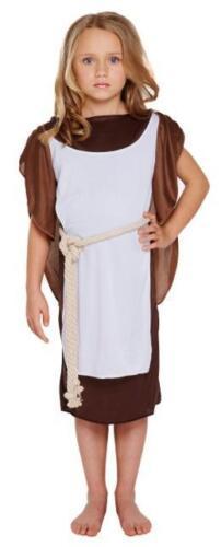 Bambini Ragazza Costume Viking Warrior Costume Libro Settimana