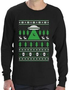 image is loading alien reindeer abduction ugly christmas sweater long sleeve