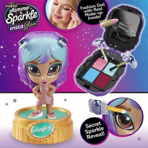 CRA-Z-Art Shimmer n Sparkle Instaglam Bambola-Hayley Inc Makeup compatto