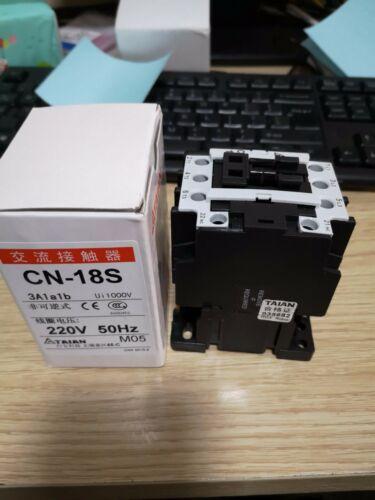 CN-18S CN18S 1pc New TAIAN Contactor 220VAC free shipping