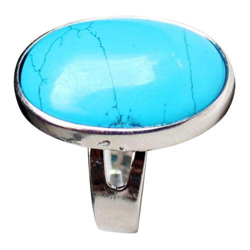 Vintage Oval Förm Ethnische Ring Unisex Modeschmuck Hochzeit Fingerring Geschenk