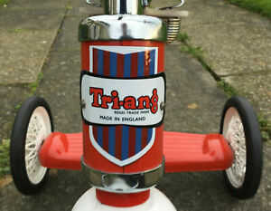 Triang-Tri-ang-Logo-Shield-Sticker-Decal-for-bikes-trikes-scooters-toys