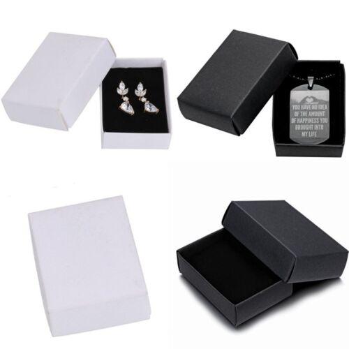 Vente en gros bijoux cadeaux Papier Boîtes Bague Boucles D/'Oreilles Collier Montre Bracelet Box