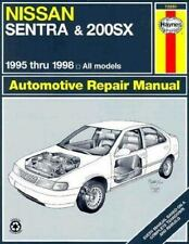 Nissan Sentra & 200Sx Automotive Repair Manual: Models Covered : All N-ExLibrary