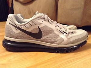 newest 6e490 eda9c Image is loading Mens-Nike-Air-Max-2014-Wolf-Gray-Running-