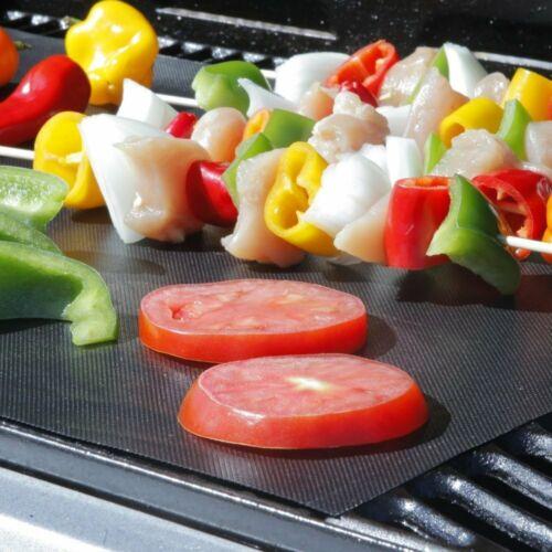 BBQ Grill Mat Teflon Heavy Duty Cooking Reusable Sheet Non-Stick Barbecue Mat