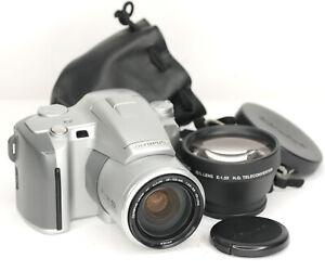 Olympus-IS-500-35mm-Film-All-in-one-SLR-Camera-Tele-lens-4406BL