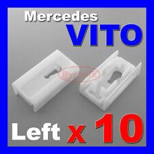 Mercedes Vito W638 Clase V Frontal Parabrisas un pilar Izquierda Trim Clips 638