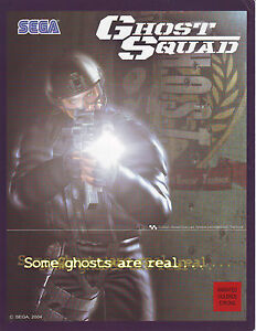 SEGA-GHOST-SQUAD-ORIGINAL-OFFICIAL-VIDEO-ARCADE-GAME-SALES-FLYER-BROCHURE-2004
