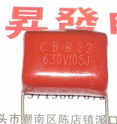 100pcs NEW CBB 105J 630V 1uF 1000nF capacitors #C989