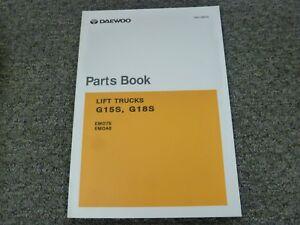 daewoo parts manual