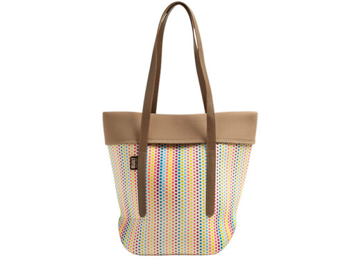 Dot City Neoprene Candy Tote Built Ny X0xqwTF