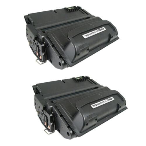 2PK Black Toner Cartridge Compatible with HP Q5942A for LaserJet 4350n 4350tn