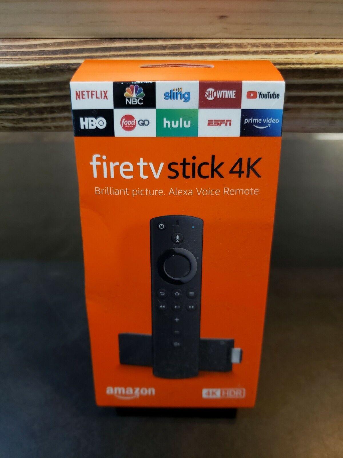 NeW Amazon Fire TV Stick 4K Streaming Media Player, Alexa (B07B6L2QCF) alexa amazon fire media new stick streaming