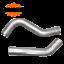 "thumbnail 5 - Over Axle Exhaust kit universal 3"" OD"