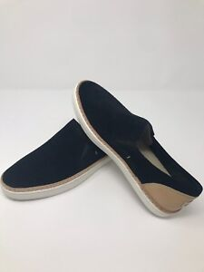 f62acf2e2a9 Details about NIB by UGG Australia ADLEY PERF Slip On Leather/Suede Shoe  BLACK Women's Size 5