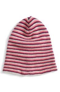 Tucker Girls Tate Stripe Pink Beanie