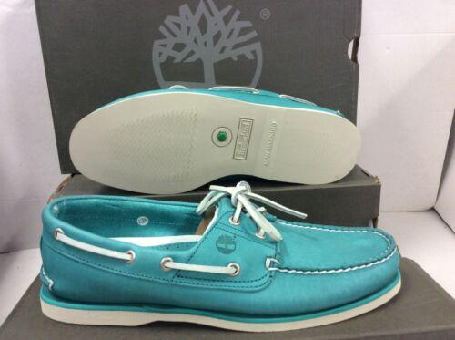 Size UK 11 EUR 45.5 Timberland A1BIR Classic Boat 2 eye Mens Shoes