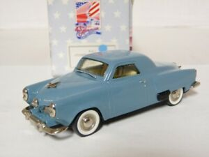 43rd-Avenue-Milestone-1-43-1951-Studebaker-Commander-Handmade-White-Metal-Model