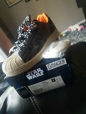 8c5c26e51d21 Adidas Superstar II x Star Wars ROGUE SQUADRON G51623 Camo Orange Size 7.5