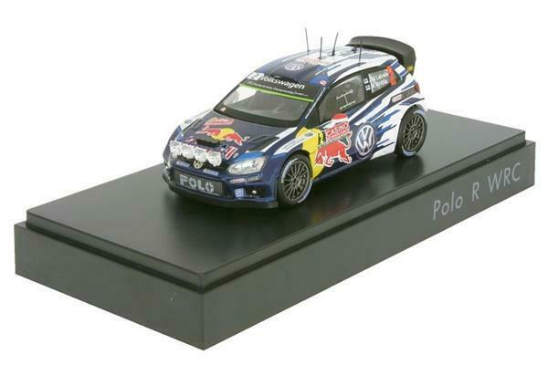 Spark Model VW Polo R WRC WRC 2015 Latva 1 43 6C1.099.300.B
