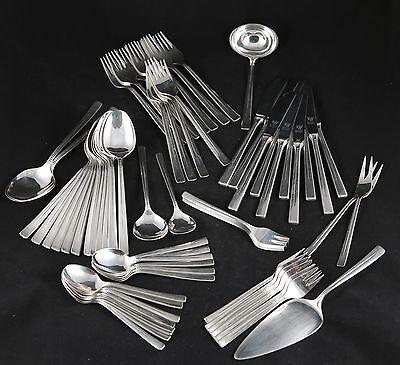 Aus Dem Ausland Importiert Design Besteck Hoogen Solingen 68 Teile Vintage 60 70 Er Cutlery Mid Century