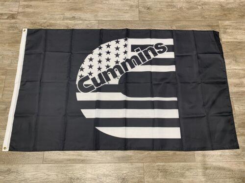 Cummins Banner Flag 3x5ft Diesel Power Engine Man Cave Garage Wall Decor Flag