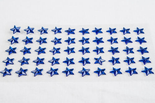** 100//50-6//10mm STARS Self Adhesive Diamante Stick On Rhinestones