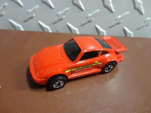 Loose Hot Wheels Red Porsche 930 Turbo w//Blackwall Wheels