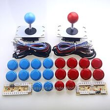 Arcade DIY Kit Parts USB Encoder To PC Joystick + 20 Buttons For MAME Controller