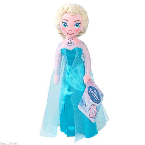 "Your Choice 10/"" inches Disney Frozen Elsa Anna or Olaf Plush Talking Doll"