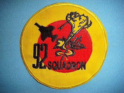 RAF  92  squadron    Royal Air Force squadron patch