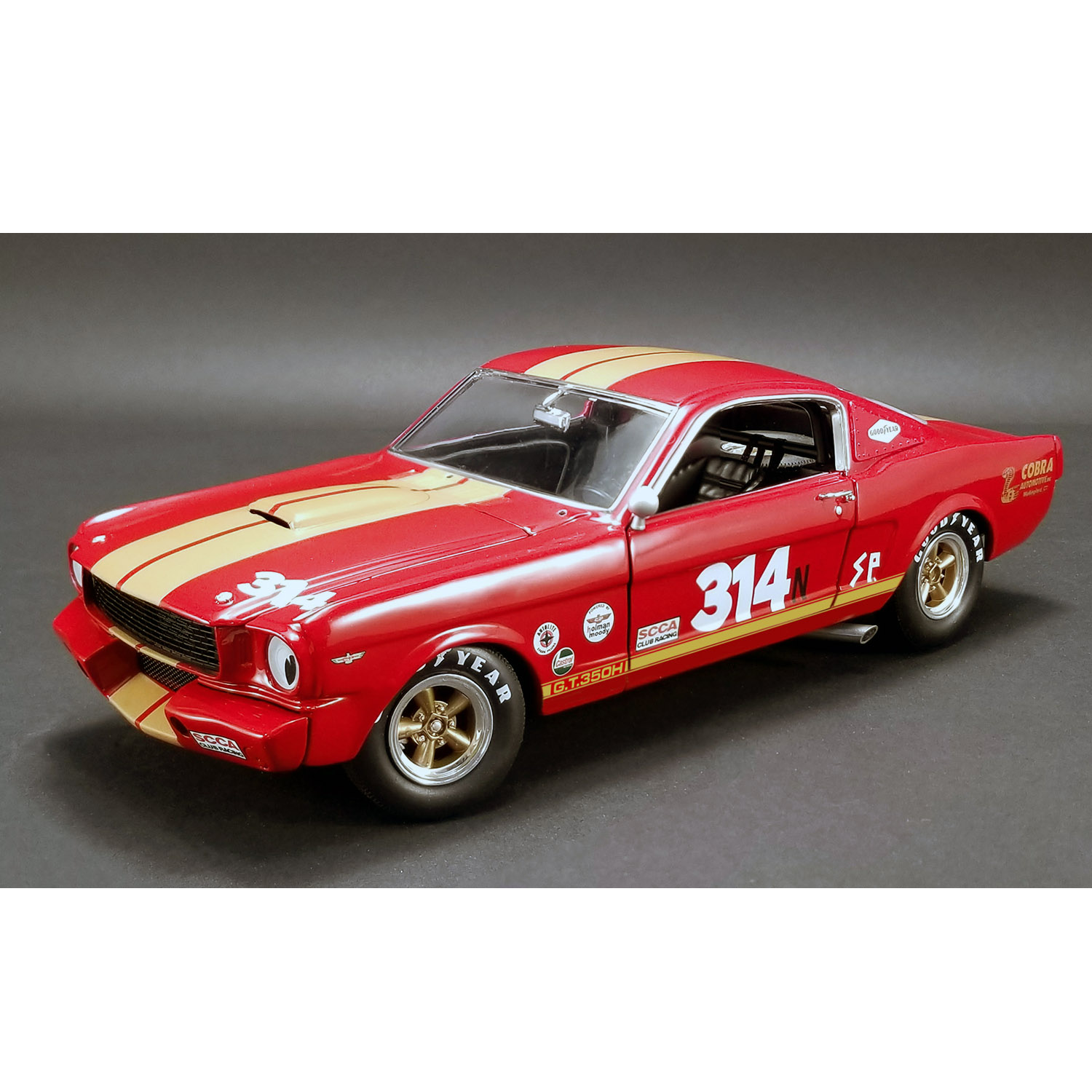 ACME – 1/18 Scale – #314 1966 Shelby GT350H – Rent A Racer Model Replica